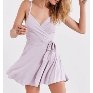 Adorable mauve romper